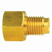 "1/4"" to 9/16""-18 Steel Brake Line Nut Adapter"