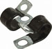 "1/4"" O.D. Rubber Coated Steel Clamp"